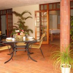 Touraco Guesthouse Patio